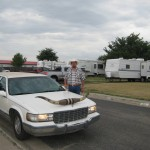 Limo and Limo driver, Amarillo Texas