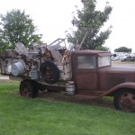 Original truck driven from Kansas to Amarillo in the 1930's