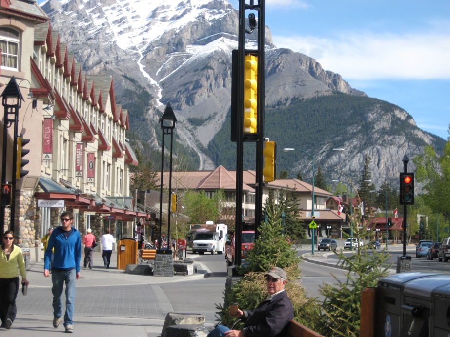 Banff Village And Tunnel Mountain Rv Park Friday June 5