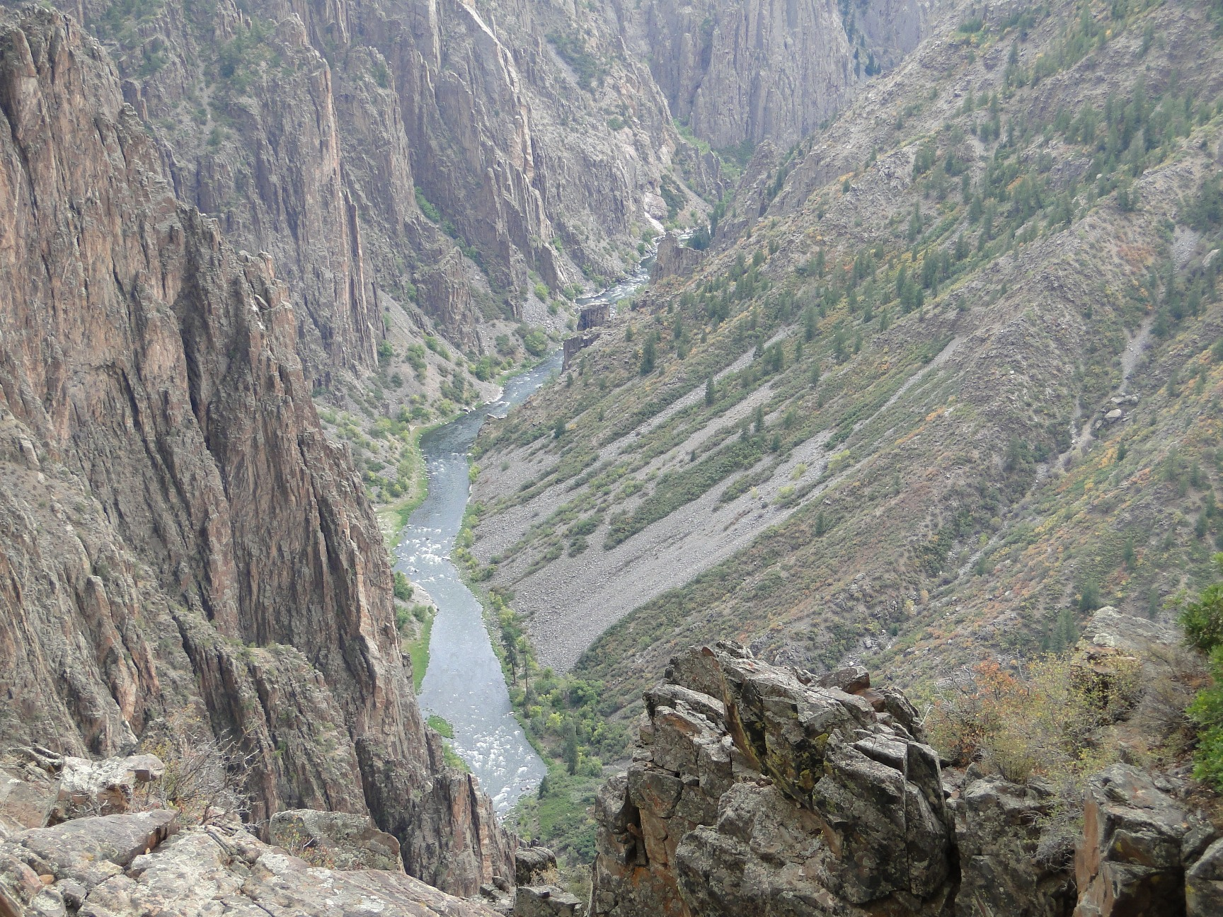 Black Canyon Of The Gunnison National Park Montrose