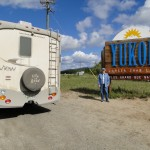 Entering the Yukon territory