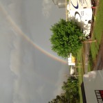 Perfect rainbow after the storm