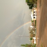Both ends of the rainbow in Wall South Dakota