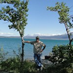 Campsite at Lake Kluane